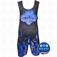 TITAN Blue Inferno Sublimated Singlet