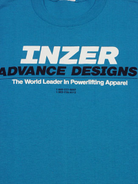 Inzer Logo California Blue T Shirt