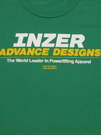 Inzer Logo Kelly Green T Shirt