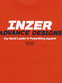 Inzer Logo Orange T Shirt