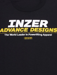 Inzer Logo Black T Shirt
