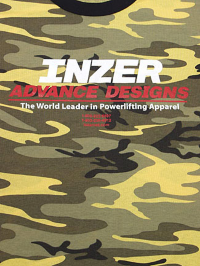 Inzer Logo Yellow Camo T-shirt