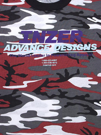 Inzer Logo Red Camo T-shirt