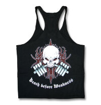 HOP Death Before Weakness Y-Back Tank, размер: 2XL